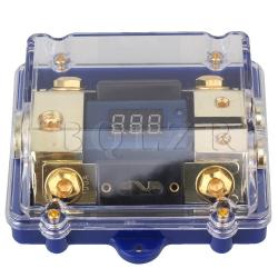 Digital LED Dislplay 2 Ways Distributor Fuse Holder
