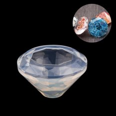 DIY Diamond Silicone Mold For Pendant Jewelry Making Tools Resin Gem Craft Mold(diameter: