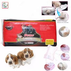 Dog Diapers Dono Disposable Diapers 14 Couches (Medium)