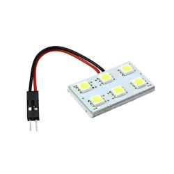 Dome Festoon Car Interior Light Panel Lamp 6 SMD 12V 3-piece Set