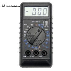 [uebfashion] Dt181 Pocket Mini Digital Lcd Multimeter Card Type Voltage Resistance Meter Tool - Intl By Uebfashion.