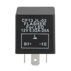 Electronic LED Flasher Relay for Car Turn Signal Blinker Light 3Pin
