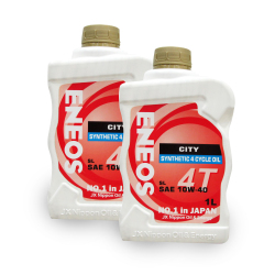 Eneos City SL SAE 10w-40 Synthetic 4 Cycle OiL 1L Bundle of 2