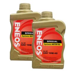 Eneos  SL/CF SAE 10w-40 Special Synthetic Motor OiL Bundle of 2
