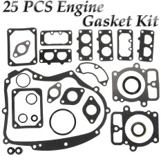 Engine Gasket Set For Lawn Mower Briggs&stratton 694012 Replaces 499889 25pcs - Intl By Qiaosha.