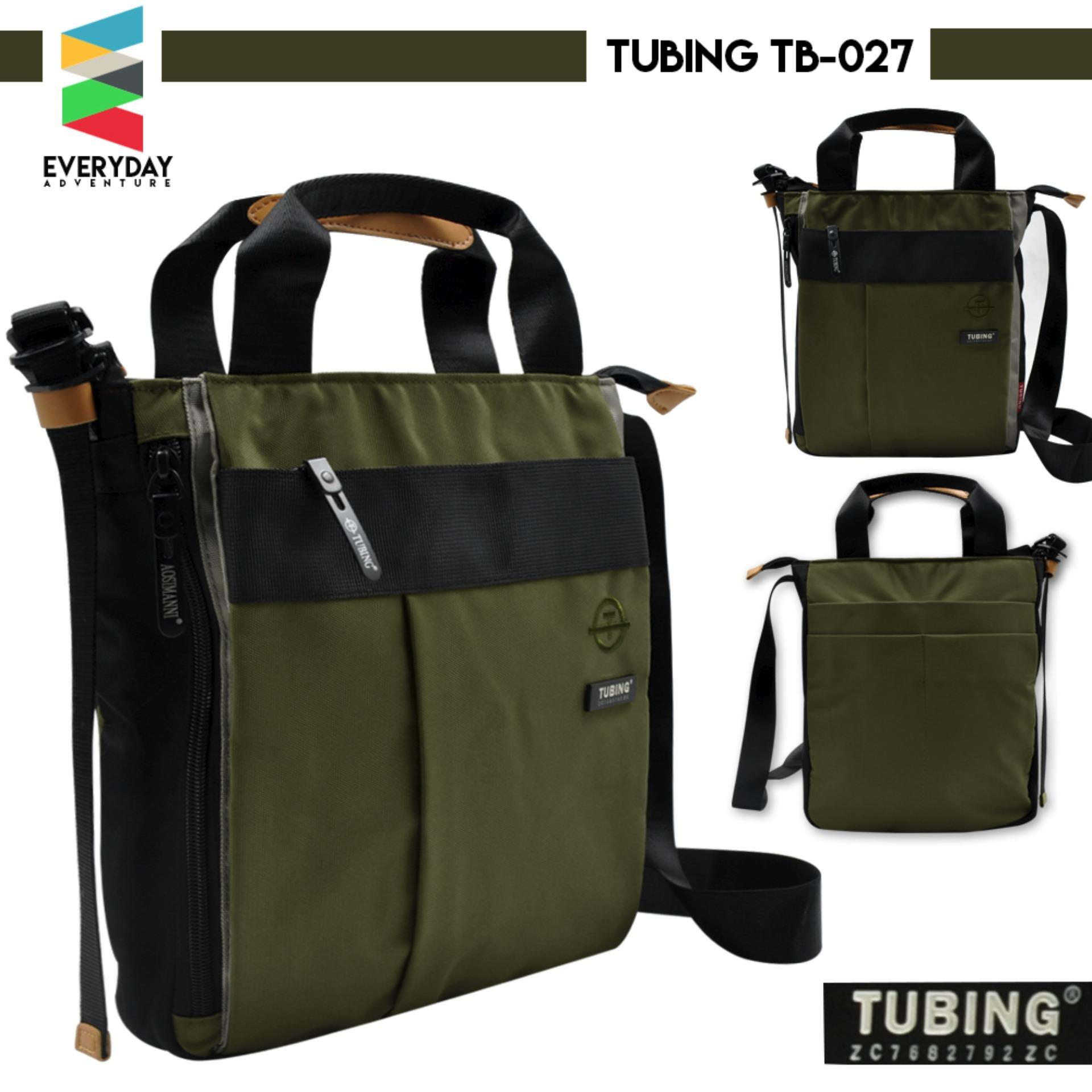 8f3357ec3d Everyday Deal TB-027 Tubing Nylon Men s Messenger Top Handle Sling Bag