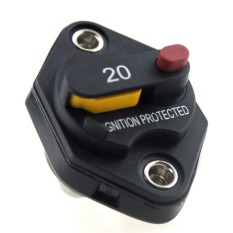 F1665-20a Manual Reset Circuit Breaker - Intl By Channy.