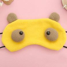 Fancyqube 4 colors Cartoon Monster 1 Piece Sleeping Eye Mask Nap Shade Blindfold Sleep Eyes Cover