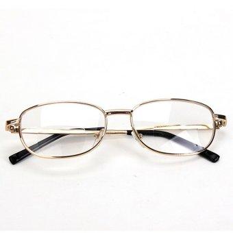4db5ef9754fb Where to sell Fashion Bifocal Lens Rimmed Men s Reading Glasses Gold Metal  Frame Eyeglasses 3 check price - Only ₱450.07