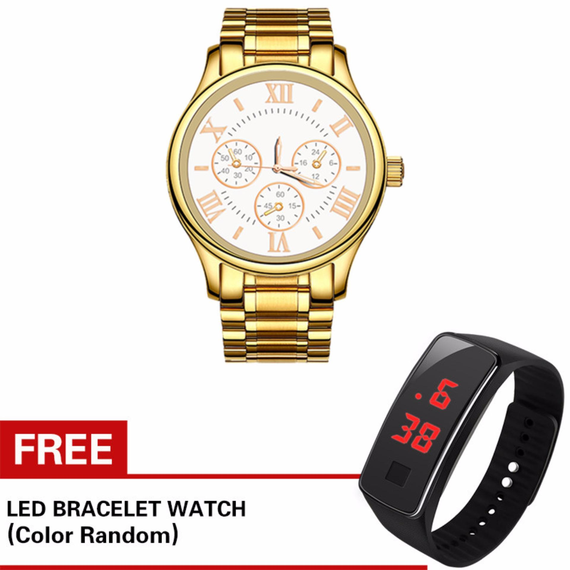 Fashion Business Men's Watch with Free Kids watch