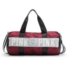 ABS ABSL 276 fashion girl stripe duffle bag pink beach shoulder bag large  capacity secret Overnight weekender b2689af1a753
