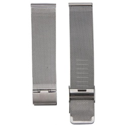 Fashion Milanese Stainless Steel 22mm Wrist Watch Band Strap SL - intl