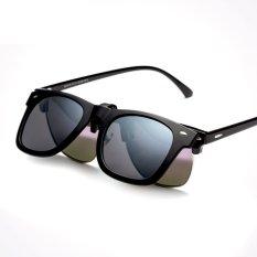 ca89f57199f Fashion polarized clip sunglasses men clip on glasses frame male sun glasses  clip Outdoor sports UV
