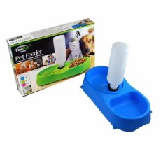 Finepet Dog And Cat Pet Feeder (blue) By Luckylkh.