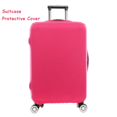 FLORA Expandable Elasticy 18 20 inch Waterproof Travel Luggage Protective Cover Rose Red