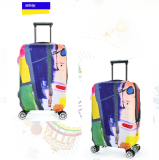 FLORA Expandable Elasticy 18-20 inch Waterproof Travel Luggage Protective Cover - Purple - intl₱650.00