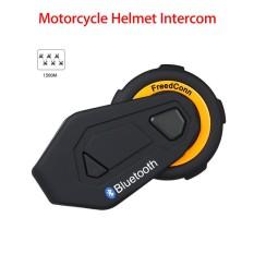 Freedconn T-Max 1500m Bluetooth Motorcycle Helmet Intercom Interphone Headset(black+orange) - Intl By Yashangzhou.
