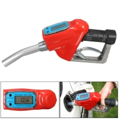 Fuel Gasoline Petrol Oil Delivery 1 Nozzle Dispenser With Digital Flow Meter - Intl By Paidbang.