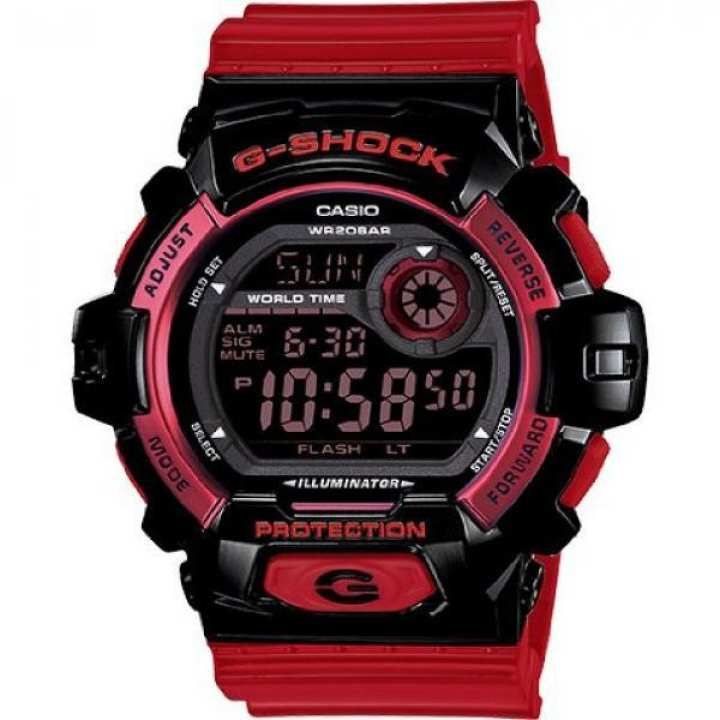 G-Shock G-8900 Crazy Color Trending Series Men  Luxury Watch - Glossy Red / One Size