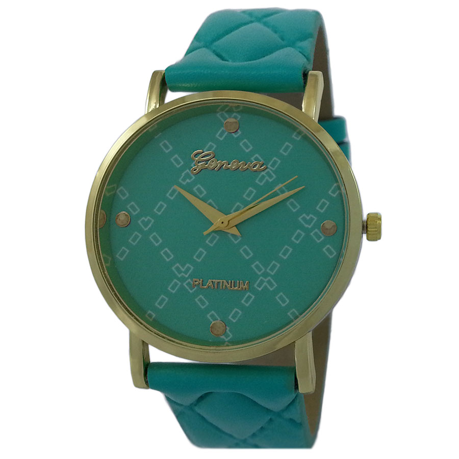 Geneva Diamonds Women's Quartz Watch (Green) product preview, discount at cheapest price