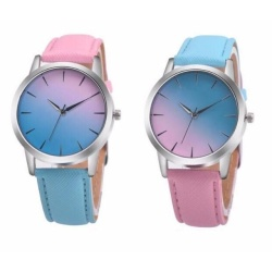 Geneva Unicorn Blast Watch Set of 2 (Pink,Baby Blue/Baby Blue,Pink)