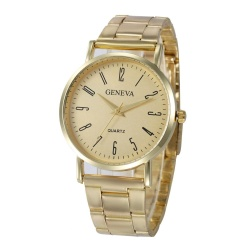 Geneva Women Faux Leather Analog Quartz Wrist Watch - intl