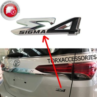 Philippines | Cheapest Price Genuine Sigma4 Emblem for