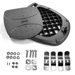 GIVI MP60N Universal Monolock Plate with Screw Set (Black)