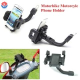 GPS Mobile Holder for Motorcycles (Black) image on snachetto.com
