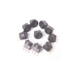 Gracefulvara LED Indicator Switch For Car 10 Pieces