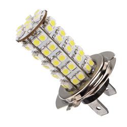 H7 68 SMD 3528 1210 LED Car Fog Headlight Bulb DC12V Xenon (White)