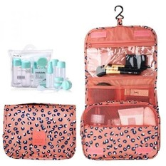 Hanging Toiletry Bag,Portable Travel Camping Organizer Waterproof Cosmetic Makeup Shaving Bag Toiletry Kit for