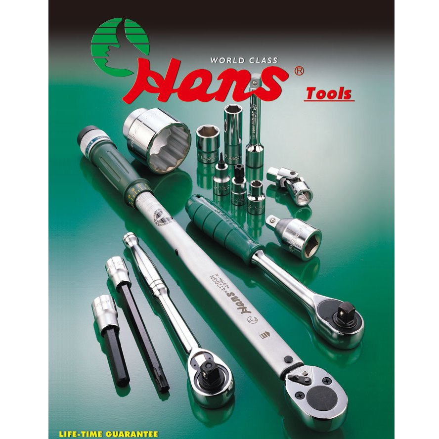 Hans Tools 4024-T50 1/2 Drive T50 Torx Bit Socket (Silver)