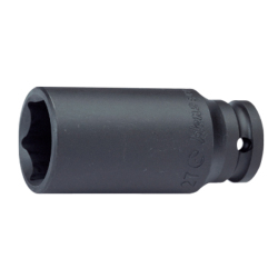 "Hans Tools 88300A-1-7/16inch 1"" Drive 6 Points Deep Impact Socket - SAE (Black)"