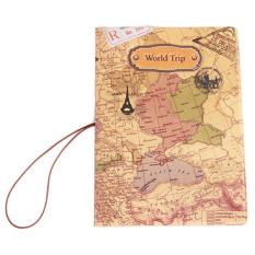 Hanyu Outdoor Travel World Trip Passport Holder Multicolor - intl