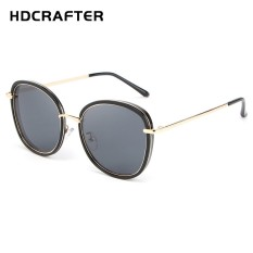 1a69dff377 HDCRAFTER New Lady s Fashion Personality Features Brief Sunglasses Trend  Same Style Ink Mirror H028 - intl