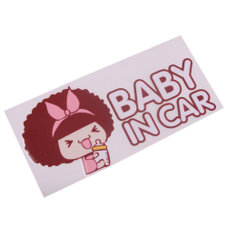 HengSong Car Stickers Accessories Baby On Road Muticolor