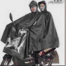High Quality Adults Motorcycle Cycle Scooter Waterproof Double Rain Coat Couple Raincoat Wind Coat Windcoat By The Victory.