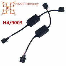 Hikari Pair Led Conversion Kit Headlight Canbus Error Free Anti Flickering Resistor Decoder (h4(9003)) By Galleon.ph.