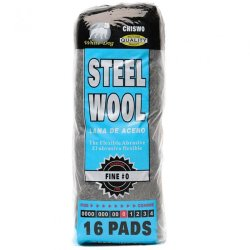 Hitech No. #0 Fine Steel Wool (Black)