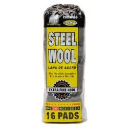 Hitech No. #000 Extra Fine Steel Wool (Black)