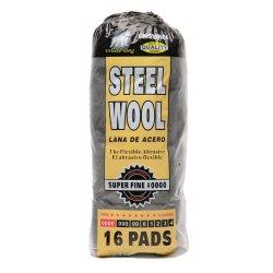 Hitech No. #0000 Super Fine Steel Wool (Black)
