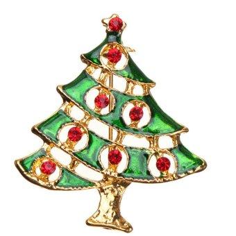 HKS Fashion Christmas Brooch 12 - Intl
