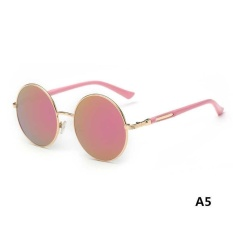 a860147f20 Hot Vintage Polarized John Lennon Sunglasses Hippie Retro Round Mirrored  Glasses - intl