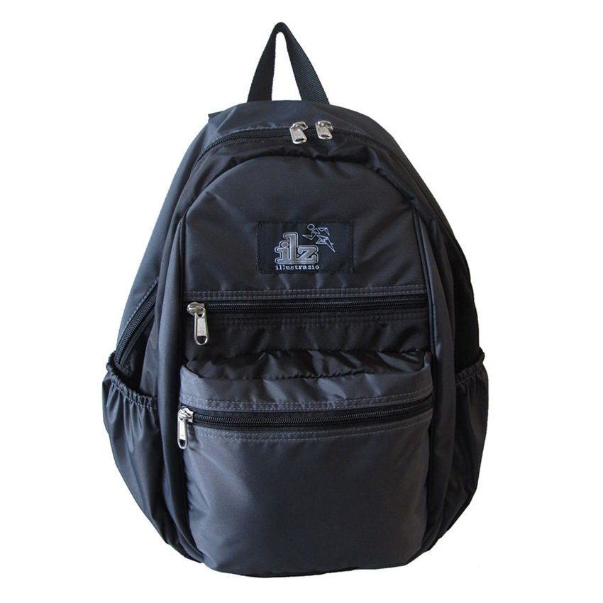 ILLUSTRAZIO Backpack (Black) product preview, discount at cheapest price