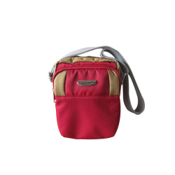 ILLUSTRAZIO Durashield Fashion Sling Bag (Maroon Khaki)
