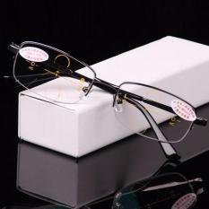 e07e9e6cff8 Intelligence Progressive Multifocal Commercial Reading Glasses Bifocal  Three Colors Ultra Light +1.50