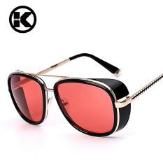 IRON MAN 3 Matsuda TONY Sunglasses Brand Designer Sunglass Vintage Retro  Fashion Glasses Oculos UV400 - f056a4905b