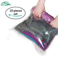 Jeebel Vacuum Storage Bags Hand Scroll Compressed E Saving Bag Swim Clothes Luggage Travel Kit