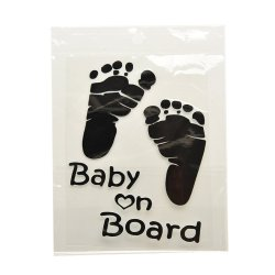 Jetting Buy Car Decoration Stickers Reflective Baby on Board